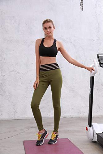 Dames Hardlopen Tights, Sport Leggings, Tummy Control,voor Gym,Yoga, Workout Yoga sport vrouwelijke legging kant hoge taille heupen
