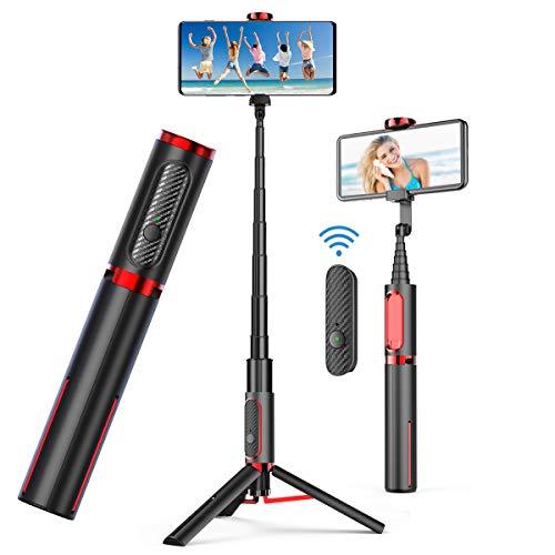 bon comparatif doosl Selfie Stick Bluetooth, monopode Selfie Stick avec télécommande rechargeable, trépied,… un avis de 2021