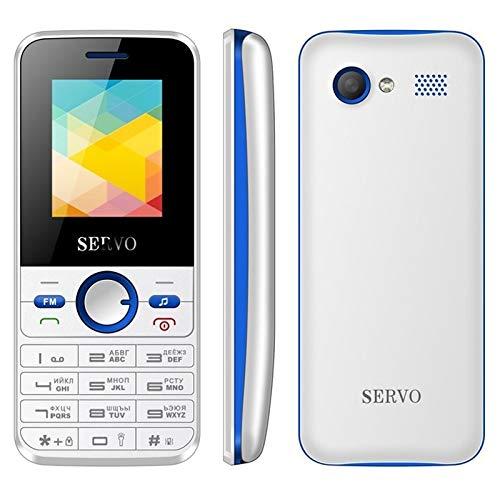 Teléfono móviles para Mayores Teléfono móvil SERVO V8240, 1,77 Pulgadas, batería de 1500mAh, 21 Teclas, Soporte for Bluetooth, FM, MP3, gsm, SIM, etc. (Color : Color3)