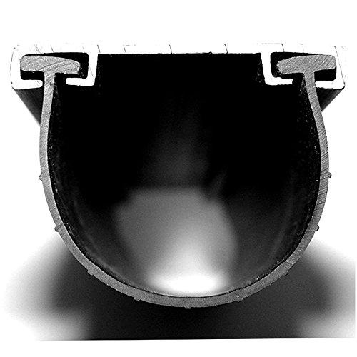 Garage Door Bottom Weather Seal T-Style 3 3/4 Wide 5 1/6 'T' (16')