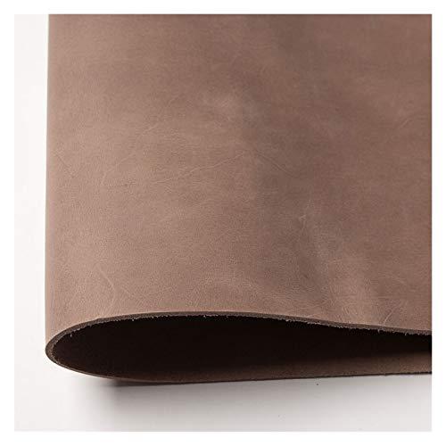 YANGDONG Artesanías de Mano y Cuero - para Pendientes de Cuero, Carteras de Cuero - Telas de Costura de Bricolaje Cuero Bronceado Vegetal, Grabado, mecanizado, Moldeado, tinteing