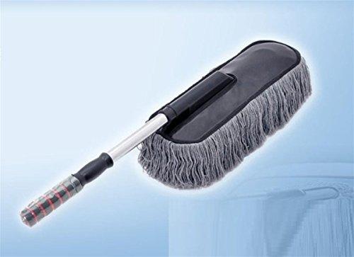 Voiture fournitures de nettoyage amovible cire brosse rétractable voiture vadrouille brosse de lavage de voiture Dust Shan fournitures automobiles coton