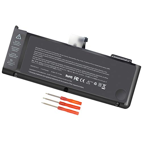 A1382 A1286 Battery for Early 2011 Late 2011 Mid 2012 MacBook Pro 15 inch Battery for MacBook Pro A1286 15 inch [EMC Number:2353-1, 2563,2556] M1055 77.5WH