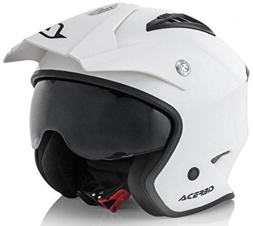 Acerbis casco jet aria bianco m