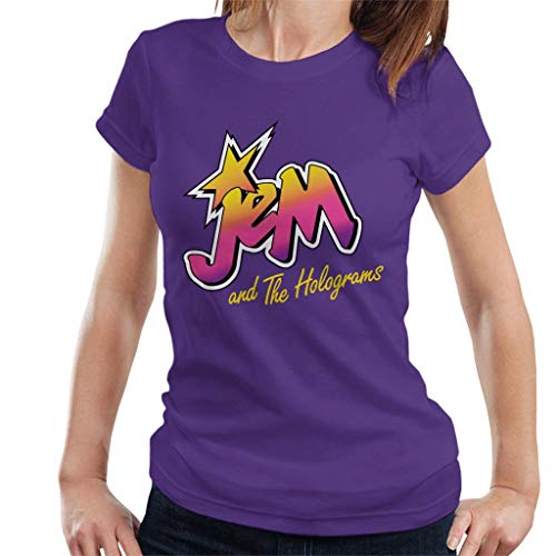 Jem and the Holograms 80's Logo Women's T-Shirt