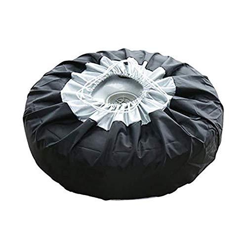 Funda para Rueda de Repuesto,Neumático Repuesto Cubierta,?Cubierta Protectora ?Impermeable Rueda Protector,para neumáticos de Repuesto, a Prueba de Polvo, Bolsas de Almacenamiento para Ruedas,2pc (L)