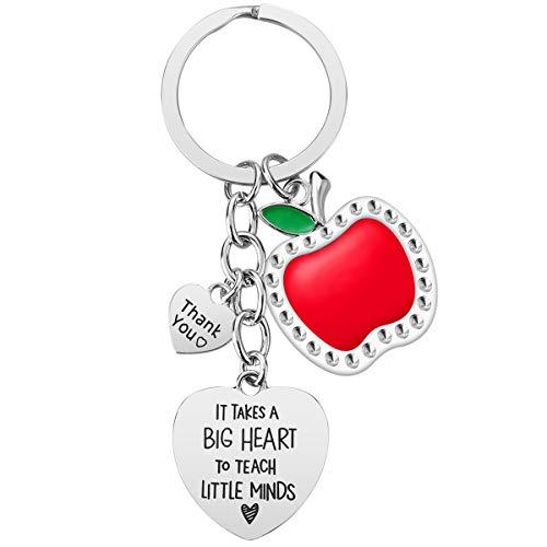 Teacher Gifts for Women - 3PCS Teacher Keychain, Teacher Appreciation Gifts, Teacher Christmas Valentines Gifts Thank You Gifts for Teacher Photo #2