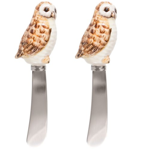 Charles Sadek Import Co - Owl Body Handle Set of Two Spreaders