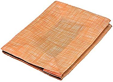 RajasthaniKart Saree Cover/Lehenga Cover/Woolen Clothes Bag in Non Wooven Material Peach (Set of 4 Pcs)