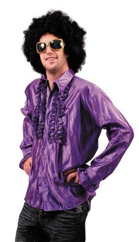 Party Pro 8653155 Chemise Disco violette, Mulit Couleur