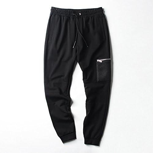 Dufjodi Un Pantalon Hommes Hommes Hommes Un Pantalon Pantalon Pantalon wei Pieds et Cheville fondule Pantalon,noir,170   m