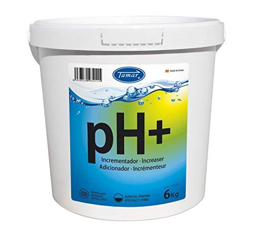 Tamar Incrementador pH Granulado, 6 Kilos 🔥