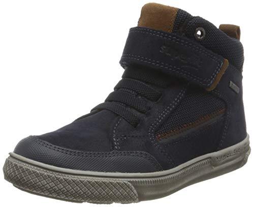 Superfit Jungen Luke Sneaker, Blau (BLAU/BRAUN 8000), 39