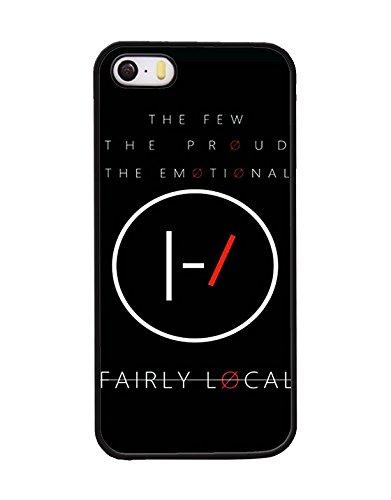 Zanerdake Band Logo Twenty One Pilots Logo iPhone 5s Rück Hülle, Solide Twenty One Pilots Logo Rück Hülle für iPhone 5s 5 SE, Band Logo iPhone 5 Rück Hülle Twenty One Pilots Logo