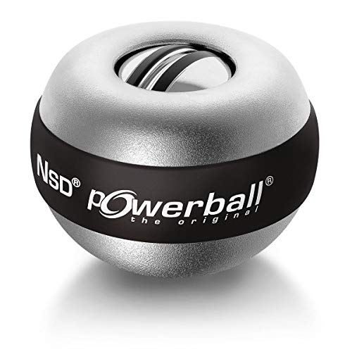 Powerball Der Große Titan Autostart, ca. Ø 8,2 cm, ca. 500 g, Aluminiumgehäuse Alu-Silber