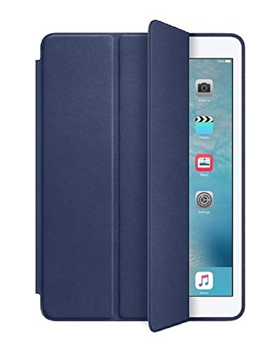 Smart Case Ipad Air 2 A1568 A1567 A1566 Premium Azul Marinho