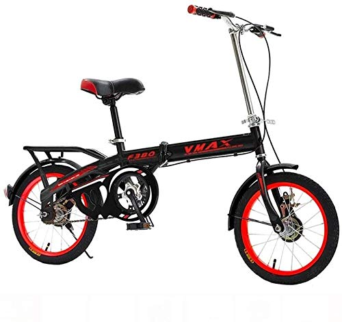 Sale!! PLYY Mini Bicycle Folding Bicycle Road Bike Adult Male Female Student Bicycle City Bike Light...