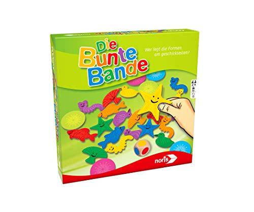 noris 606011639 Die Bunte Bande, Kinderspiel, Mehrfarbig