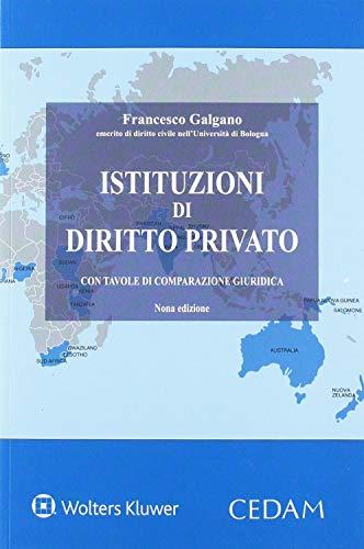 Istituzioni di diritto privato. Con tavole di comparazione giuridica