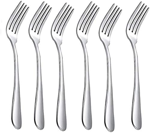 REQUISITE NEEDS 6 x Fine Stainless Steel Dinner Forks Table Forks