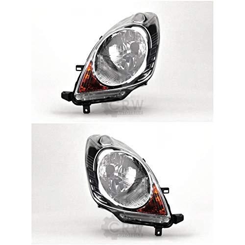 Preisvergleich Produktbild Scheinwerfer Set für Note E11 Bj. 03.06-12.08 H4 mit Blinker elektr. LWR