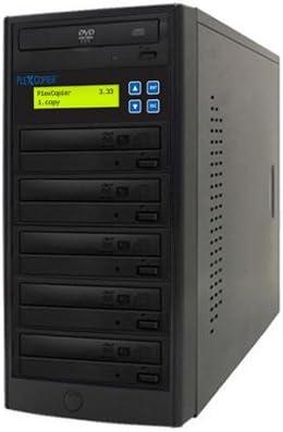 PlexCopier 24X SATA 1 to 5 CD DVD duplicator Writer Copier Tower (5 Target)