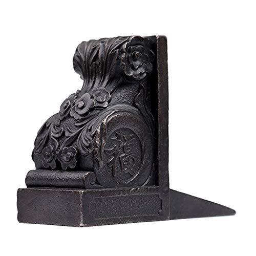KDOAE Tope de Puerta Fundido Decorativo Tope de Puerta rústica Puerta de la cuña de Hierro Fundido Granja decoración Estatua tapón de la Puerta Cuña Puerta Antigua de Cuña