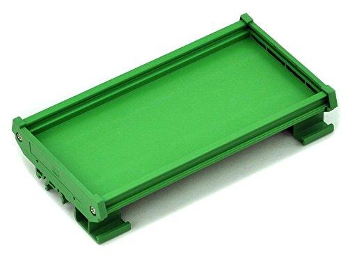 Electronics-Salon - Soporte de montaje en carril DIN para PCB de 120 mm x 72 mm,...