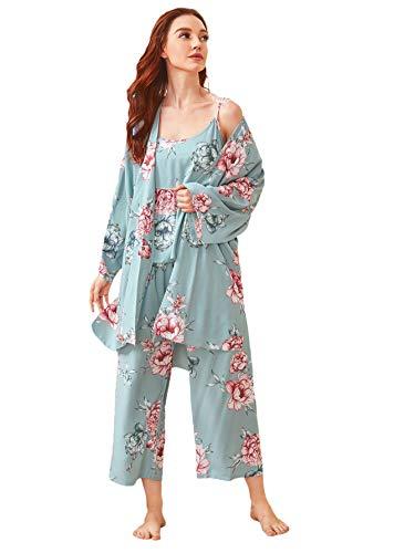 Pijama 3 Piezas Mujer marca WDIRARA