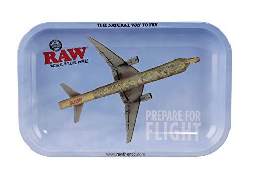 RAW Rolling Tray – Prepare For Flight – Small (11″ x 7″)