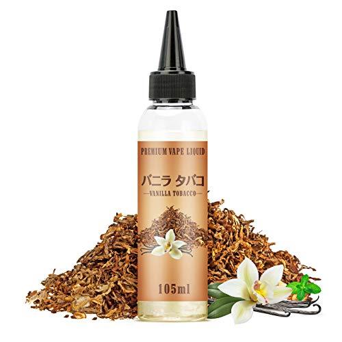 電子タバコ リキッド バニラタバコ風味 vapeリキッド 大容量 メンソール10ml付き ニードルボトル付き 115ml NICOCO