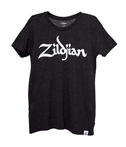 Zildjian T3027 - Camiseta con Logotipo Juvenil - Carbón - Grande