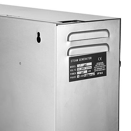 BuoQua 6KW Dampfgenerator Dusche Dampferzeuger Sauna Für Dampfbad Dampfdusche Und Dampfbäder Private Und Gewerbliche Dampfgerät - 7