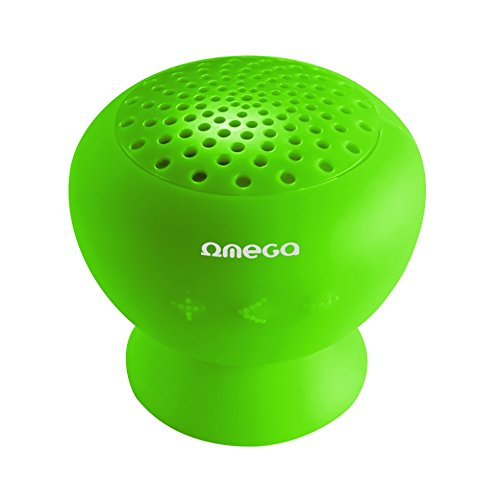 Omega OG46GR Mono Portable Speaker 3W Verde Altavoz portátil - Altavoces portátiles (1.0 Canales, 3 W, Inalámbrico y alámbrico, Mono Portable Speaker, Verde, USB)