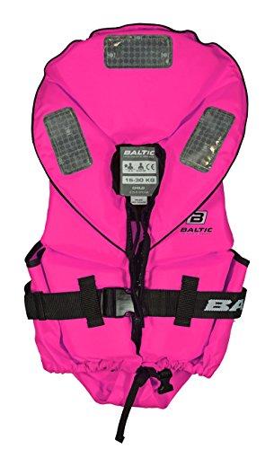 Baltic Pro Sailor 100N Kinder Feststoff Rettungsweste, Größe:15-30kg, Farbe:pink