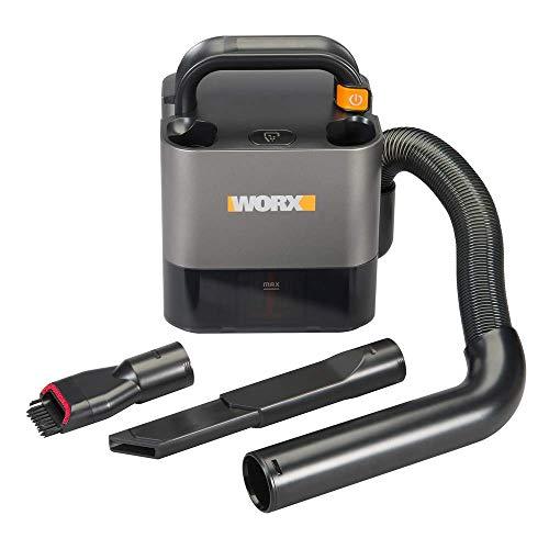 Worx WX030L 20V Power Share Cordless Cube Vac Compact Vacuum (Renewed)