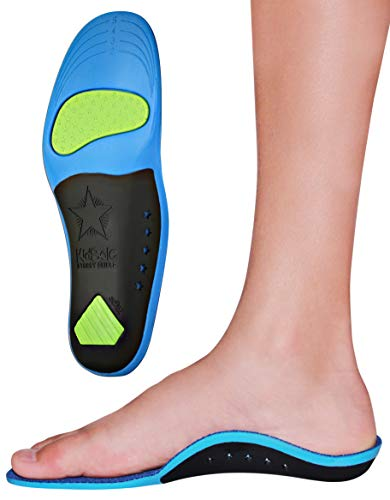 Children's Memory Foam Starry Shield Arch Support Insole for Comfort, Cushion &...