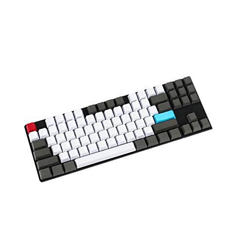 NPKC Rohling Customized 61 87 104 ANSI Keyset OEM Profil Dicke PBT Keycap Set Geeignet für Cherry MX Switches Mechanische Gaming-Tastatur (nur Keycap)