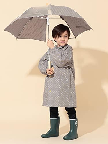 派手すぎず、大人っぽい装いに憧れている子供たちにぴったりです。遠くからドットに見える模様は、実は星形。細かなところまでデザイン性が高い傘なんです。