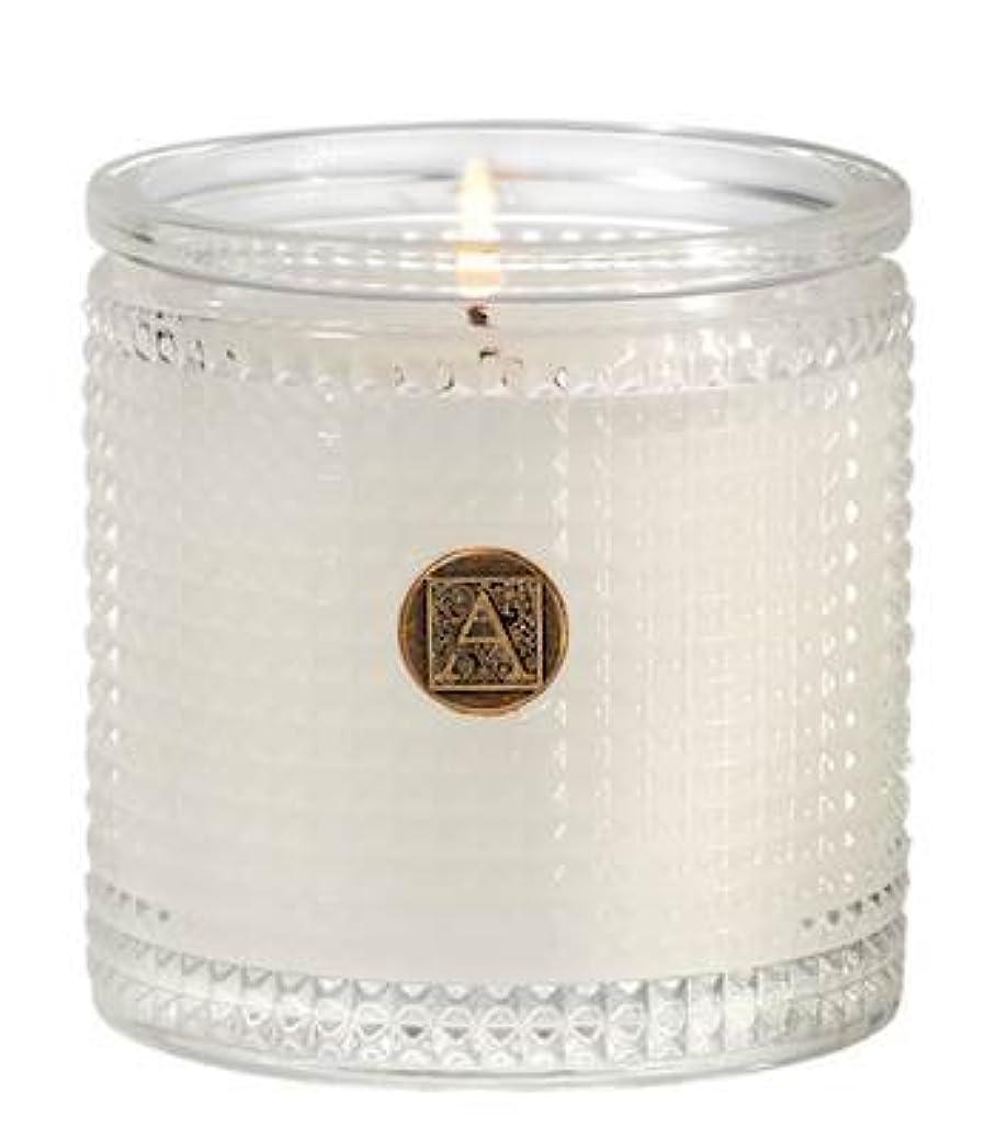 プロペラ独裁者綺麗なAromatique BourbonベルガモットTexturedガラス香りつきJar Candle