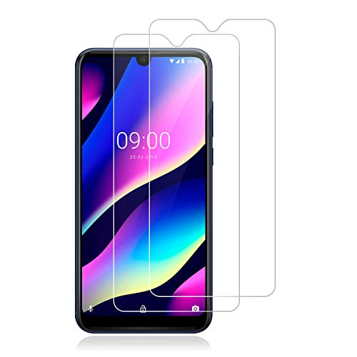 ROVLAK Panzerglas Schutzfolie für Wiko View 3 Pro,[2 Stück][9H Festigkeit][Anti-Kratzen] [Anti-Fingerabdruck][2.5D R&e][HD Klar] Folie für Wiko View 3 Pro