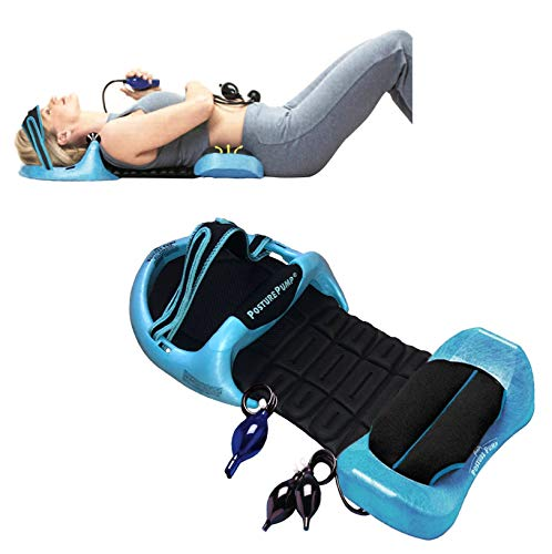 Posture Pump Relief for Neck and Back Pain - Deluxe Full Spine Model...