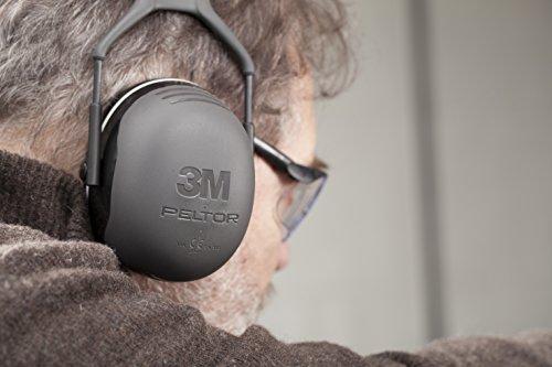 3M Peltor Casque Antibruit Série X, X5A, 35 dB, Noir