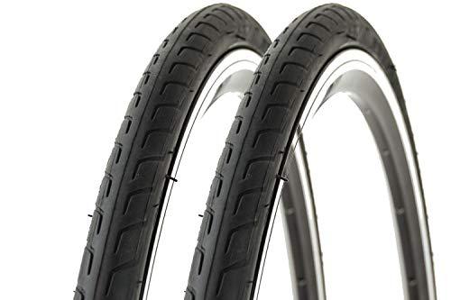 2 Stück 28 Zoll Fahrrad Reifen 28-622 City Rennrad Reifen Mantel Tire schwarz B-Ware