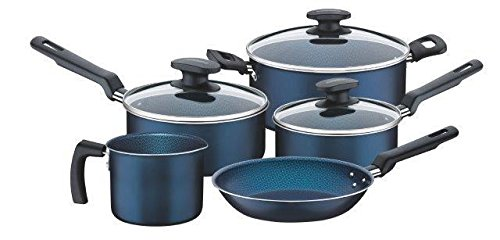 Tramontina Batería de Cocina Bergamo, Azul,