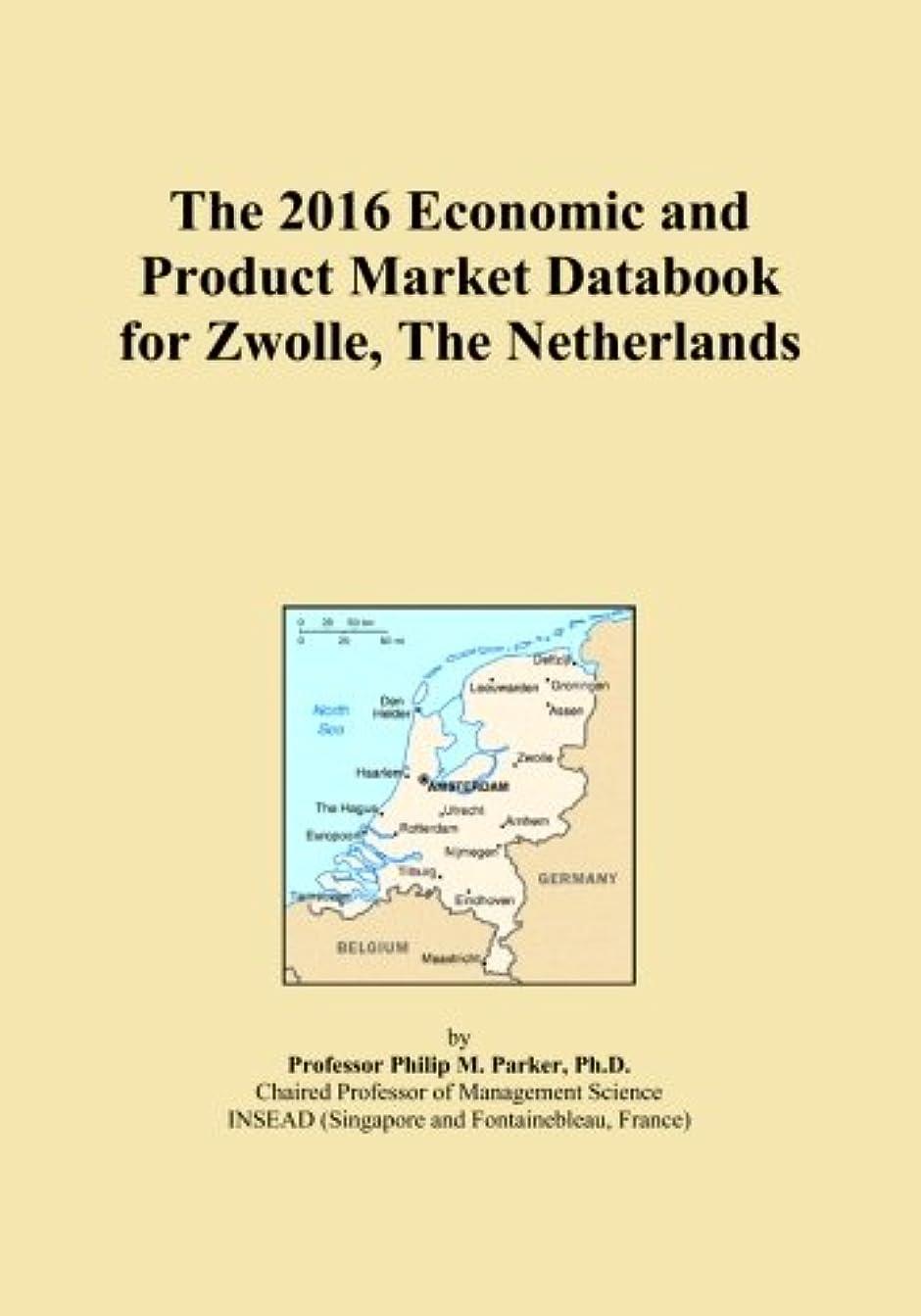 まとめる茎物理学者The 2016 Economic and Product Market Databook for Zwolle, The Netherlands