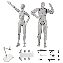 powerful Mannequin set ALEXTREME art, figure, 2 points / set, light body, PVC, action figure model …