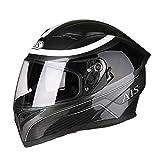 Berrd Motorradhelm Flip Motocross Helm Motorrad Integralhelm Motorrad Mit Interner Sonnenblende...
