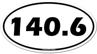 Gone For a Run Triathlon Car Magnet | 140.6