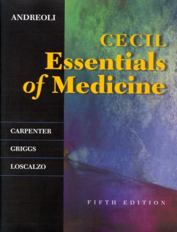 Cecil Essentials of Medicine (Cecil Medicine)